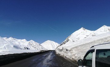 Transfer from gudauri to Tbilisi